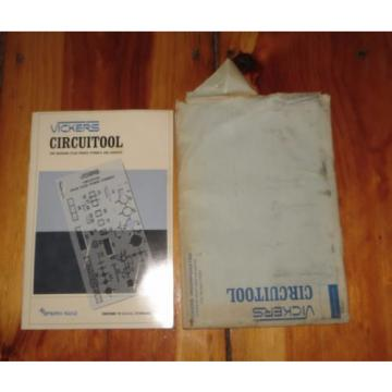 Vickers Netheriands Circuitool for Drawing Hydraulic Symbols and Symbolic Circuits 1952