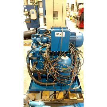 Hydraulic Luxembourg  power unit with Vickers 15HP pump
