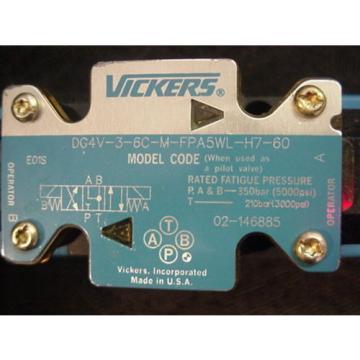 origin Guinea Eaton Vickers Hydraulic Solenoid Valve 02-146885 DG4V-3-6C-M-FPA5WL-H7-60