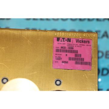 Eaton/Vickers Hongkong MCD-8289 Hydraulic Valve 115VAC 4999116-001 origin