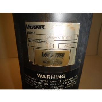 Vickers Burma H4511DYRV3C05 Hydraulic Pressure Filter