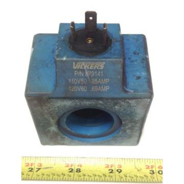 VICKERS Suriname  69/85A HYDRAULIC SOLENOID COIL 879141