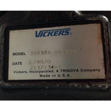 VICKERS Ethiopia   HYDRAULIC PUMP   35V30A 86A22R