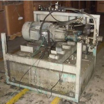 Hydraulic Hongkong Package Vickers PVB20 Pump  30 HP 1775 RPM Motor  77 Gallon valves etc
