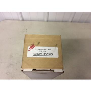 Vickers Netheriands V6021B5C05 Flowtech Corp Hydraulic Filter Element