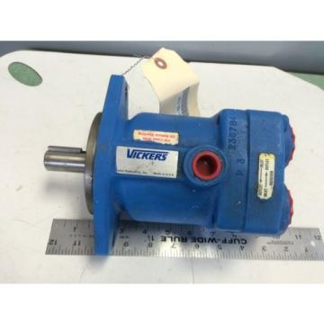 Origin Guinea  VICKERS MFB10-UY-31 HYDRAULIC PUMP MOTOR, 210 BAR, 3600 RPM 432095,050205 BT