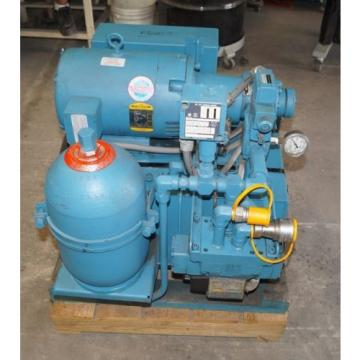 VICKERS Uruguay DOUBLE A Model T-20-P H5-P-10B1 HYDRAULIC PUMPING STATION 75 HP