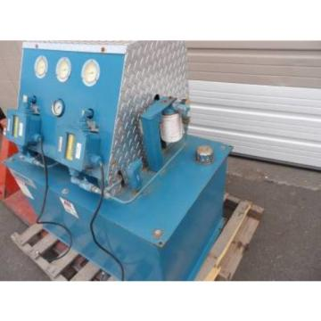 Vickers/Motion Brazil  Industries Hydraulic Unit With Tank And Gauges 75HP, Max PSI 116