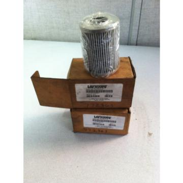 LOT Niger  OF 2 V0272B1C10 VICKERS HYDRAULIC FILTER