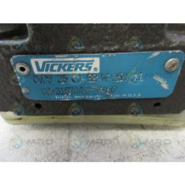 VICKERS Hongkong  CVCS-25-CS2-W25011 HYDRAULIC RELIEF VALVE Origin NO BOX