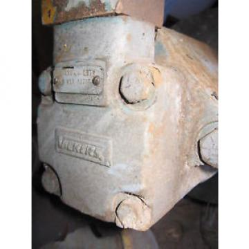 VICKERS France  HYDRAULIC PUMP #3520V-35A, H870