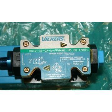 Vickers Barbados DG4V-3S-OA-M-FPM4WL-H5-60-EN654 0A Hydraulic Solenoid Valve Origin