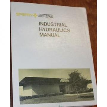 Sperry Burma  Vickers industrial hydraulics manual - 12th 1977