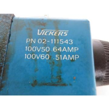VICKERS Oman DG4V-3S-6C-M-U-T5-60 SOLENOID VALVE - USED