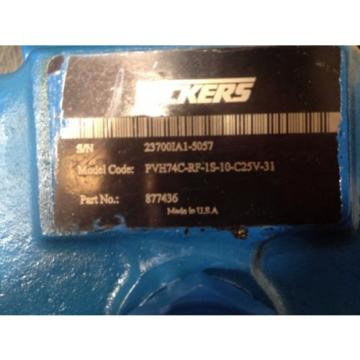 VICKERS Luxembourg  PVH74CRF1S10C25V31  Origin