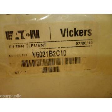 VICKERS Ecuador V6021B2C10 HYDRAULIC OIL FILTER ELEMENT  NOS