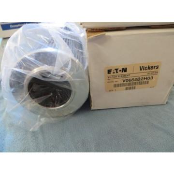 EATON Malta  VICKERS oem FILTER ELEMENT LOT  #V0664B2H03 Origin