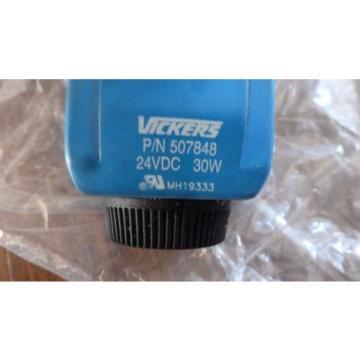 Vickers SamoaEastern DG4V-3-0B-VM-U-H7-60, Hyd Valve w/ 24VDC Coil origin Old Stock