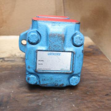 Vickers Hongkong  25VQ21A 1C20 Fixed Displacement Hydraulic Vane Pump 412in³r 38gpm