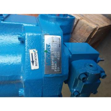 Vickers Haiti  pvq40 piston pump