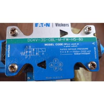 Vickers SamoaWestern CPF2S-10-F-W-3S-M-FW-H5-20, 02-336819 Hyd Valve Assembly origin Old Stock