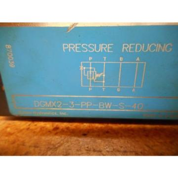 Vickers Hongkong  DGMX2-3-PP-BW-S-40 870039 Pressure Reducing Valve origin Old Stock