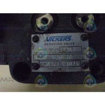 VICKERS Laos   XG062B30  REDUCING VALVE  Origin NO BOX