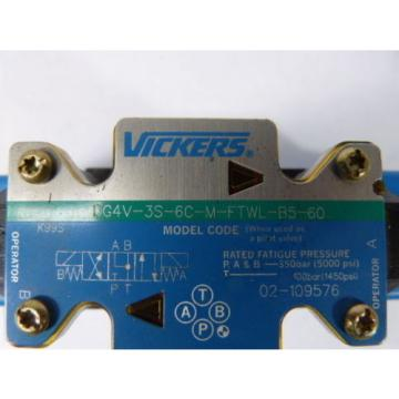 Vickers Ethiopia DG4V-3S-6C-M-FTWL-B5-60 Directional Control Valve   Origin