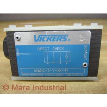 Vickers Hongkong  DGMDC-3-Y-AK-41 Direct Check Valve DGMDC3YAK41 - origin No Box