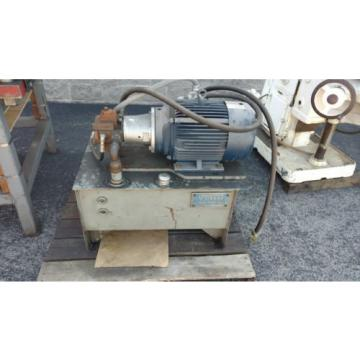 25 Liberia  Ton Hydraulic Down-acting Press die cutter 36#034;  Vickers Hydraulic Power pack