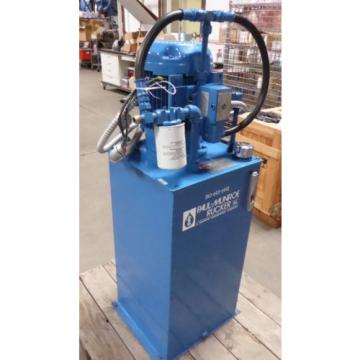 Z125357 Bulgaria  Vickers/Pual-Munroe Rucker Hydraulic Power Unit Pump 1000 PSI @ 15 GPM