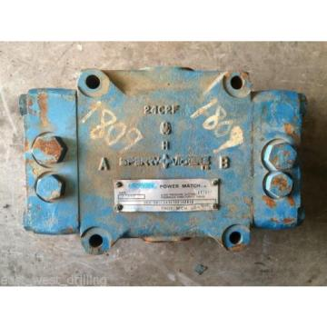 SPERRY United States of America  VICKERS CMX250-1PBA1A38B1A8810 HYDRAULIC VALVE PUMP MOTOR MANIFOLD SECTI