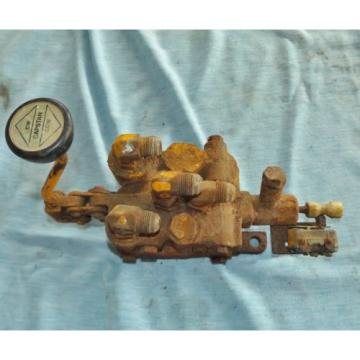 Vickers Samoa Eastern  Hydraulic Equipment Capstain Control Valve 406110, for parts or rebuild