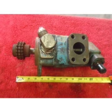 Vickers France  V2010 Double-Stack Vane Hydraulic Pump - #V20101F 13S5S 1CB10L