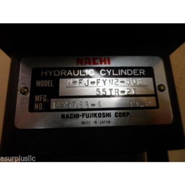 NACHI Armenia HYDRAULIC CYLINDER W-FJ-FYN2-50B-55TR-21  50mm BORE 55mm STROKE  NOS