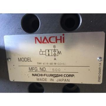 Origin Dominica NACHI SNH-G04-AR-N-D2-10,NACHI FUJIKOSHI SNH-G04-AR-N-02-10 HYDRAULIC VALVE