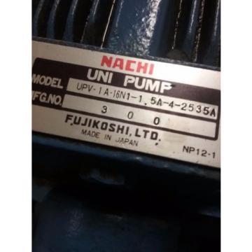 Nachi Uzbekistan Piston Pump PVS-1B-16N1-2535A _ UPV-1A-16N1-15A-4-2535A_NICE