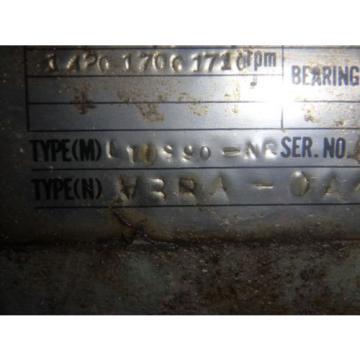 Nachi Peru Variable Vane Pump amp; Motor_VDS-0B-1A3-U-10_VDS-OB-1A3-U-10