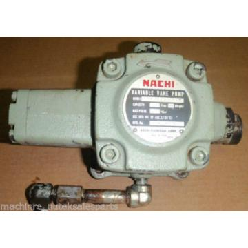 Nachi Uganda  Variable Vane Pump VDR-1B-1A3-1146G _ VDR1B1A31146G _ 1800 RPM