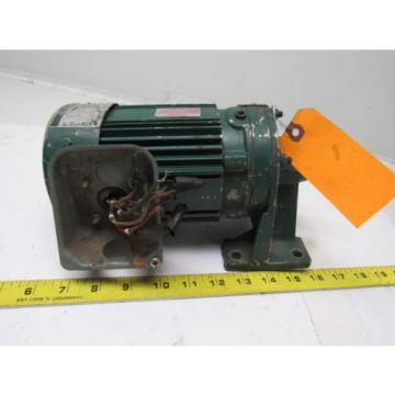 Sumitomo SM-Cyclo CNHM024075YA21 1/4HP Gear Motor 21:1 Ratio 208-230/460V 3Ph