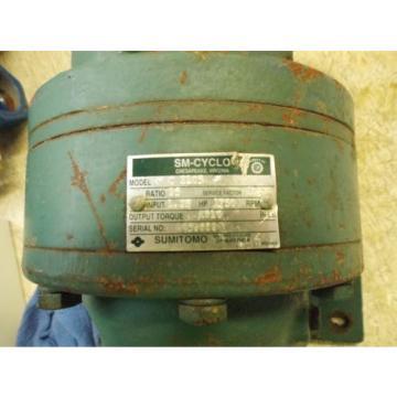 SUMITOMO SM-CYCLO HC3105 GEAR DRIVE, RATIO 35 USED