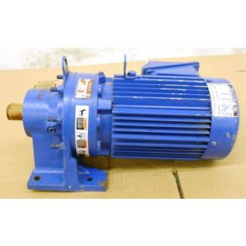 SUMITOMO SM-CYCLO INDUCTION GEAR MOTOR CNHM1-6100YC-29, 1 HP, 3 PH, RATIO 29:1