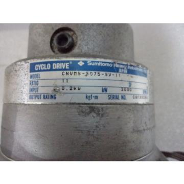 Cyclo drive gear model: CNVMS-5075-SV-11