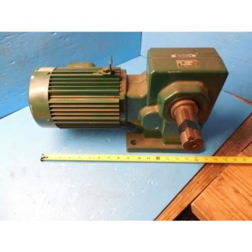SUMITOMO RMH08-50RY AC GEAR MOTOR CLASS I MOTOR HP 3/4 RATIO 30 RPM 583