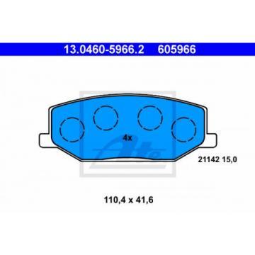Bremsbelagsatz, Scheibenbremse ATE 130460-59662