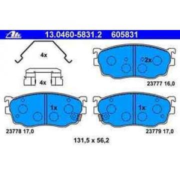 Bremsbelagsatz Scheibenbremse MAZDA - ATE 130460-58312