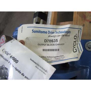 SUMITOMO SM-CYCLO CHHJ 6130Y 43 145TC 43:1 RATIO SPEED REDUCER GEARBOX Origin