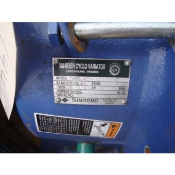 LOT OF TWO Origin OLD STOCK Sumitomo sm cyclo reducer CHHBJN5A-4175Y-87
