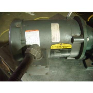 BALDOR RELIANCE 3/4 HP MOTOR VM3542 WITH SUMITOMO GEAR REDUCER HS3105H8