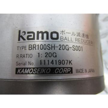 KAMO BR100SH-20G-S001 BALL REDUCER fit SUMITOMO INJECTION MOLDER ROBOT B,03